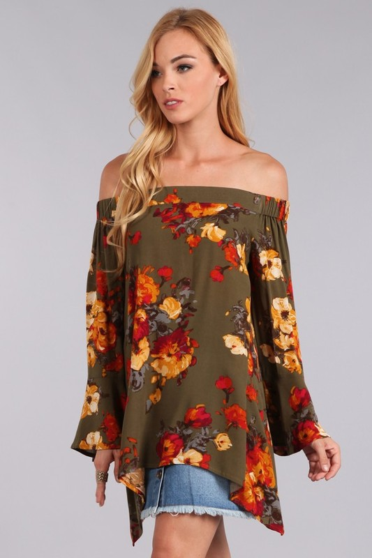 Off the Shoulder Floral