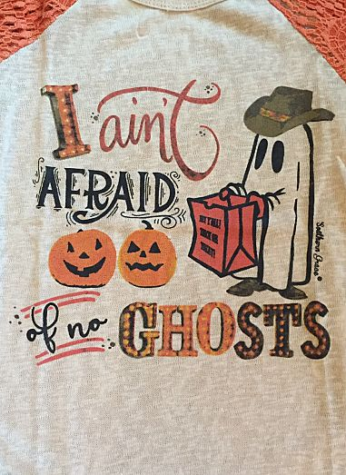 I Ain't Afraid of No Ghosts - Youth Sizes