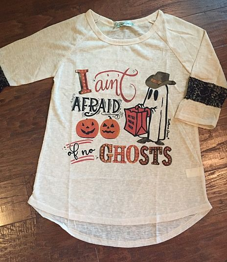 I Ain't Afraid of No Ghosts - Adult Sizes