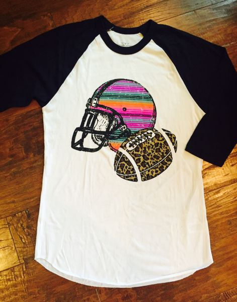 Football Serape Tee