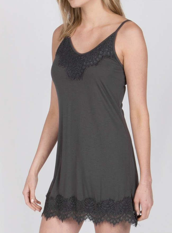 Cami with Lace Hemline