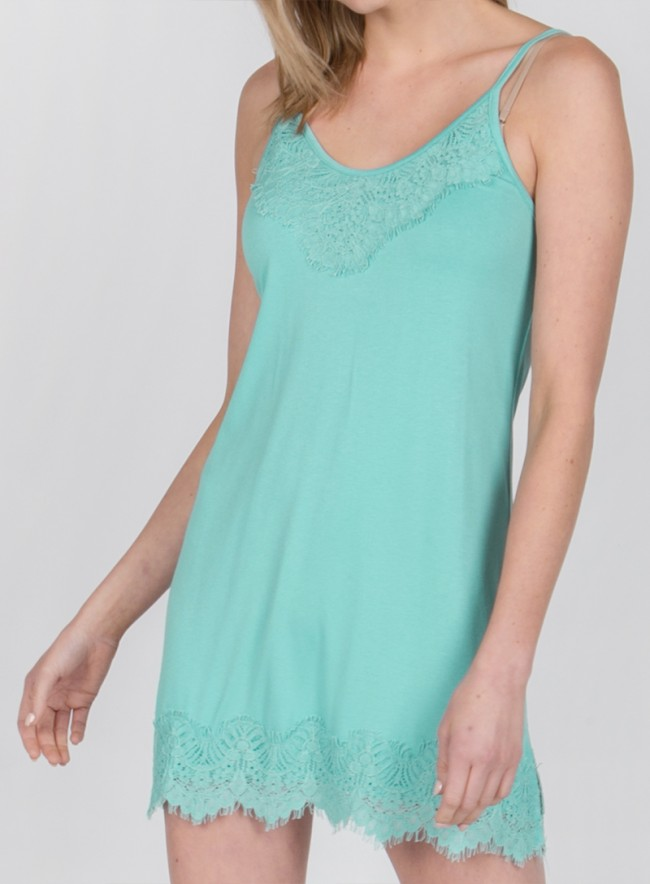 Cami with Lace Hemline 2