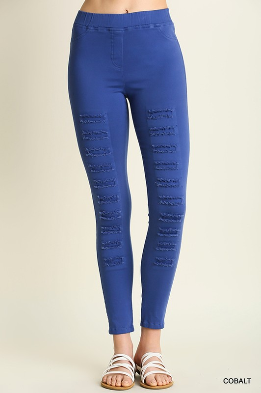 Distressed Jeggings 2